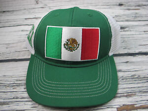 Fan Favorite Mexico Football Mesh Cap Soccer Snapback Baseball Mesh Trucker Hat