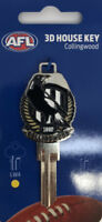 COLLINGWOOD MAGPIES  AFL 3D COLLECTORS House Key Blank - AU SELLER