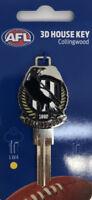COLLINGWOOD MAGPIES  AFL 3D COLLECTORS House Key Blank - AU SELLER