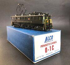HO Brass ALCO MODELS O-1C Electric Locomotive - Pennsylvania PRR