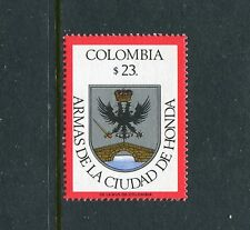 Colombia 910, MNH, Coat of Arms Honda. x23358