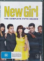 New Girl The Complete Fifth Season DVD NEW Region 4