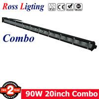 20inch 90W Single Row CREE LED Light Bar Spot Flood Super Slim CREE Driving Lamp