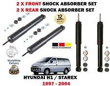 FOR HYUNDAI H 1 STAREX + VAN  1997-  2X FRONT + 2X REAR SHOCK ABSORBER SHOCKER