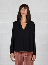 T-shirt, maglie e camicie da donna Blusa neri taglia XS