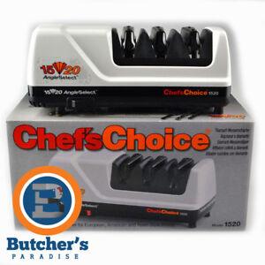 Chef;s Choice 1520 Electric Knife Sharpener White Diamond Hone CC1520 - RRP $499