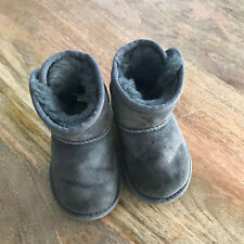 Grey Ugg Boots Girls Toddler UK5 Very good condition