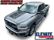 Fits Ram 1500 And 2500 Hood Graphic Vinyl Decals 3m Stripe Stickers 19-21