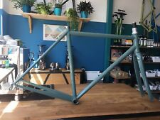 Bishop Bikes Prototype Road Bicycle. Steel Frame/Fork 52cm Handmade in the USA.