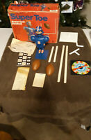 Super Toe Super Jock Football Player Schaper 1976 with  Box Vintage Game