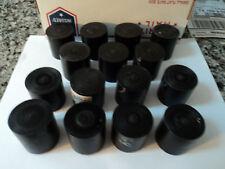 """CNC LATHE 1 1/2"""" PLASTIC BLACK POLYCARBONATE/ LEXAN ROD, POLYCARB(15 PIECES)"""