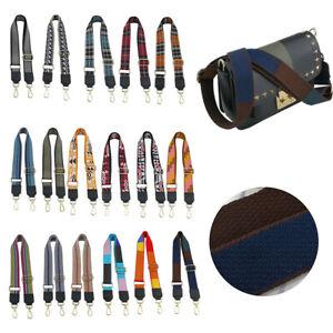 Adjustable Woven Strap Replacement Shoulder Handbag Handle Crossbody Tote Bags