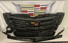 Cadillac Escalade Grill Blackout Kit OEM Lower Grille Fog Accent 2015i-2020