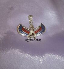 Egyptian made SILVER - Winged Isis - 8.8 grams -   - Pharaonic - NEW - #2834