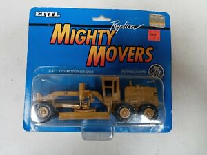 Ertl Mighty Movers Replica 1991 CAT 12G Motor Grader 1:64 #1848 Unpunched Card