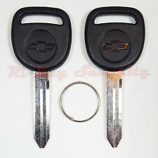 2 New original OEM Keys B102 With Chevy Logo For GMC Chevrolet etc - Made In USA