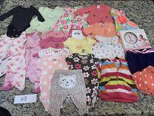 Baby Girls Nb Newborn Lot