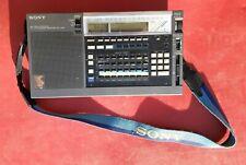 Sony Icf-2010 Am Air/Fm/Lw/Mw/Sw Pll Synthesized Shortwave Receiver Icf2010