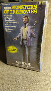 1975 Aurora Monsters of the Movies #655 Mr. Hyde Model Kit Factory Sealed