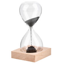 1pcs Hand-blown Timer Clock Magnet Magnetic Hourglass Hourglass Crafts Sand L N1