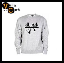 Sudadera sweatshirt Stranger Things serie ficción Hombre mujer Niño Roly S2