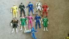 Lot of 10 Power Rangers and 1 other