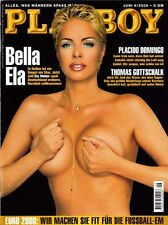 PLAYBOY 2000/06 [Juni 6/00] * Ela Weber * Silke van Exel * Ivonne Armant * TOP