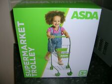 Asda Kids Shopping Trolley/New In Box