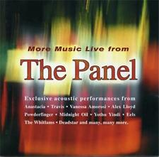 More Music Live THE PANEL CD Eels Midnight Oil Powderfinger Whitlams Travis M2M