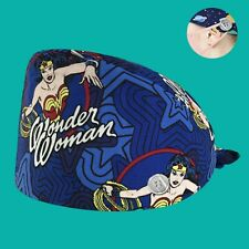 Wonder Woman Hero Adjustable Scrub Cap with Buttons