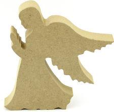 18mm MDF Freestanding Angel - Craft Blank Shape - Religious - Memorial - Memory