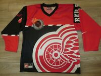 Detroit Red Wings Red Army 1997 Stanley Cup Nike Hype Jersey LG L mens