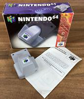 Official N64 / Nintendo 64 Rumble Pack Boxed