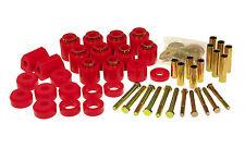 Prothane 87-96 Jeep Wrangler 1-inch Lift Body Mount Bushing Kit Red Polyurethane