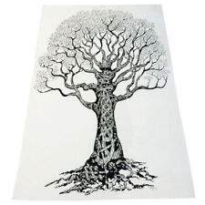 Dry Tree Indian Hanging Cotton Wall Tapestry Poster White Decor Throw
