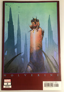 RETURN OF WOLVERINE #2 HIDDEN GEM 1:500  MARVEL VARIANT EDITION BY MOEBIUS