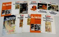 11 Prospekte Kalmar Irion Gabelstapler Elektro- Quer- ca 70/80er Jahre