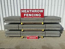 ******* 8FT concrete slotted fence post******