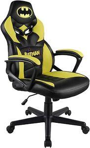 Subsonic Batman Kids Gaming Chair Bucket Seat Junior Kids Bedroom Office