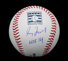"""Greg Maddux Signed Atlanta Braves Rawlings OML HOF Baseball with """"HOF 14"""" Insc"""
