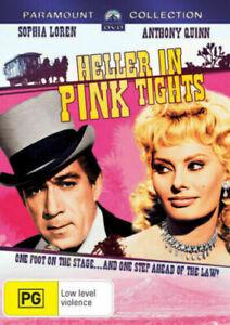 HELLER IN PINK TIGHTS DVD SOPHIA LOREN REGION 4 NEW AND SEALED
