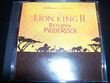 The Lion King Return To Pride Rock (Australia) Soundtrack CD – Like New