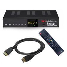Digitaler Sat Receiver MK Digital 6100 HDTV DVB-S2 HDMI SCART FullHD,Schwarz