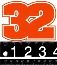 THIRTYTWO SNOWBOARD STICKER Thirtytwo Snowboarding Sticker 32 Decal