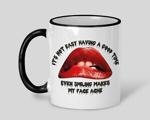 Rocky Horror Musical Smiling Personalised Movie Film Quote Mug Gift