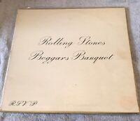 ROLLING STONES - Beggars Banquet 1968 Vinyl LP 1st Mono Press Decca LK4955 4a/2a