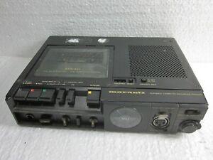 Marantz PMD-222 3 head Prof. mono portable Cassette Recorder with ac adaptor