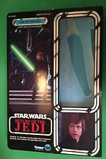 "Luke Skywalker JEDI KNIGHT ROTJ 12"" Action Figure CUSTOM BOX Star Wars Kenner"