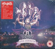Aerosmith – Rocks Donington 2014 (2xCD+DVD, 2015 Eagle, US, EV307039, NEW)