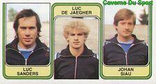 418 SANDERS DE JAEGHER SIAU BELGIQUE OUDENAARDE.SV STICKER FOOTBALL 1983 PANINI